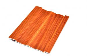 China Mill finished Wood Grain Aluminium Profiles For Furniture , Alloy 6063-T5 on sale