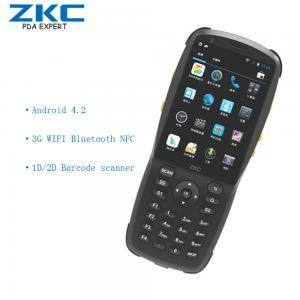 China Android Rugged Industrial mobile PDA Handheld Computer with 1D/2D Barcode Scanner on sale