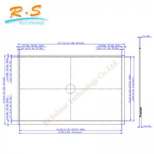 China AUO Touch Screen LCD Monitor Assembly B101EAN01.5 For acer table LCD Model on sale