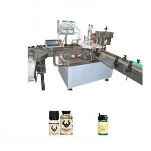 China Beverage / Chemical Essential Oil Filling Machine With Color Touch Screen Display on sale