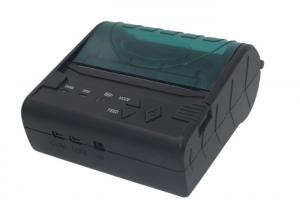 China Micro USB Mobile 80mm Portable Thermal Printer Support Windows / Java / Android on sale