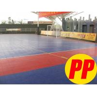 China Environmental-friendly Sport Court Vinyl / PP Floor, Futsal Gym Sports Flooring on sale