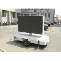 Vivid Color lR1G1B p4.81 Outdoor LED Video Wall / Screen For Business Advertising