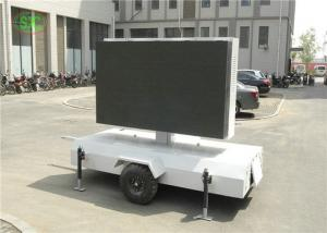 China Vivid Color lR1G1B p4.81 Outdoor LED Video Wall / Screen For Business Advertising on sale