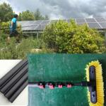 Extend length 5.1 meter home service carbon fiber  solar panel cleaning pole