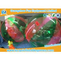 Commercial PVC Inflatable Ball To Roll In For Kids , Human Water Bubble Ball