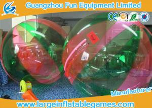 China Commercial PVC Inflatable Ball To Roll In For Kids , Human Water Bubble Ball on sale