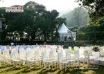 Luxury double pagoda tent and promotional wall tent