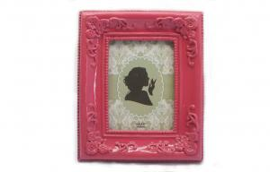 China 2.5x3.5 Old Fashioned Picture Frames , Antique Look Photo Frames Place Card on sale