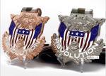 Souvenir Custom Marathon Gold Metal / Sport Award 3D Design Antique Silver Medal