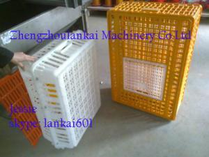 China cages de poulet, cages animales, cage en plastique de transport de poulet, cages de volaille. 0086-13526735822 on sale