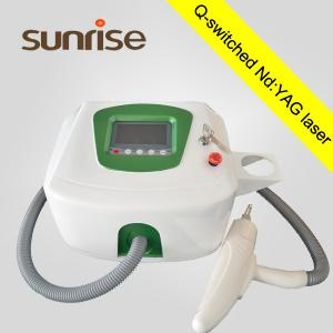 China q switched nd yag laser tattoo removal / Permanent Laser tattoo removal machine on sale