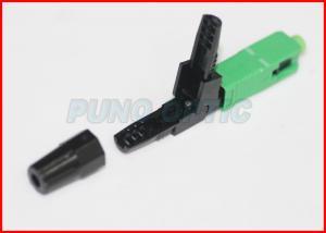 China Waterproof Plastic Optical Fiber Connectors / Fiber Optic FC Connector on sale
