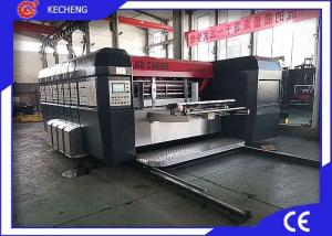 China Slotting Die Cutting 800*1900mm Top Printing Printer Gluer Inline on sale