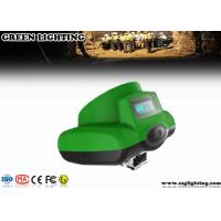 6.2Ah 3.7V LED Miners Cap Lamp , 13000 Lux High Power LED Mining Headlamp