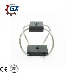 China Compact wire rope isolators stabilize your UAV video camera wire damper stabilizer on sale