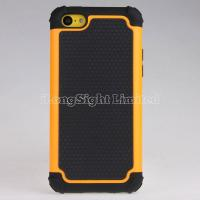 China Plastic+Silicone Case For iPhone 5C with Combo Hybrid Rugged Ballistic on sale