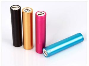 China Portable Charger 2600mAh Power Bank External Battery For Mobile Phones on sale