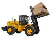 China 20ton rough terrain forklift, all terrain forklift, off-road forklift truck on sale