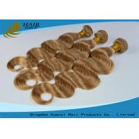 Tangle Free Body Wave Colored Virgin Hair Extensions For Young Ladies