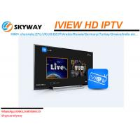 Wholesale Iview HD IPTV subscription one year or monthly ip tv account English Sports Channels VOD Movies HD Channels