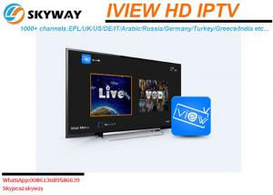 China Wholesale Iview HD IPTV subscription one year or monthly ip tv account English Sports Channels VOD Movies HD Channels on sale