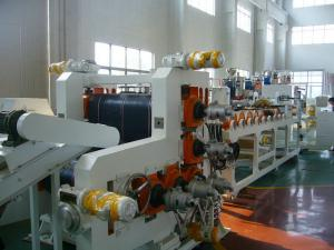 China 5 Roll Rigid PVC Calender Machine L Calender With 1000mm Width on sale