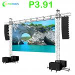 Flexible IP65 P3.91 Stage Backdrop Led Panel 1000W/sqm
