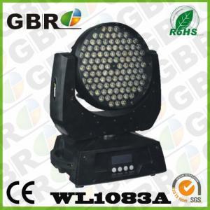 China Martin MAC 101 Zooming LED wash Moving head 108x3W RGBW  for Bar Night Club light on sale