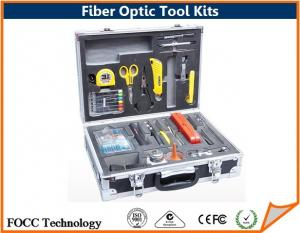 China Fiber Optic Connectors Termination Tool Kits Completed Suitcase Packed on sale