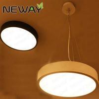 China Modern Acrylic ring pendant led light for home, Modern decor Round shape pendant led light on sale