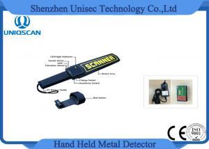 China 空港地下鉄の刑務所に点検する保証のための9V電池が付いている細い棒の金属探知器を渡して下さい on sale