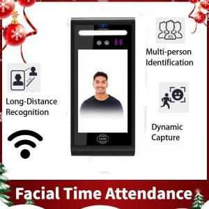 China High Quality 5 inch Cloud Time Attendance Long Distance Detect Facial Recognition Device on sale