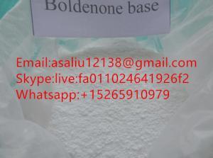 China Legal Boldenone Base Steroids Powder Dry Storage pure 99.9% on sale
