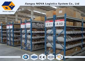 China Plywood Deck Longspan Shelving Max 500 Kg Per Level Galvanised Finish For Steel Panels on sale