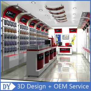 2a1ac38ef ... Quality Custom Popular Retail Wood Glass Mobile Shop Counter Design For  Mobile phone for sale