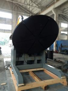 China Universal Heavy Duty Rotary Pipe Welding Positioners 10 Ton Tilting 2M Table on sale