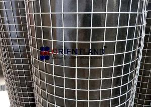 China Durable Welded Steel Wire Mesh , 1×1 Galvanised Square Mesh Anti Corrosive on sale