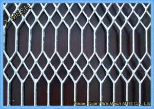 China Sphc Plate Gothic Expanded Metal Wire Mesh Fencing / Expanded Mesh Screen on sale