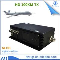100km UAV drones hdmi/sdi cofdm video nlos wireless transmitter