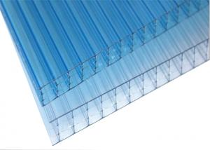 4 Layers Insulated Polycarbonate Roof Panels , Flat Plastic