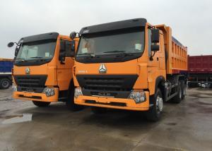 China O padrão 10 do Euro 2 roda o caminhão basculante do caminhão basculante 30 - 40 toneladas para a areia/pedras de carregamento on sale