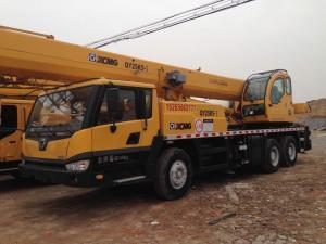 China china used XCMG 25ton crane SALE in shanghai yard on sale