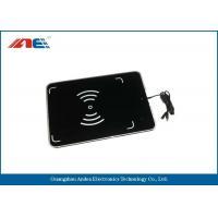 Portable UHF Desktop RFID Reader Writer USB Interface With Antenna RF Power 1 - 27DBM