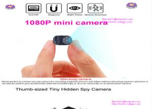 China HD 1080P Portable Mini Camera with Night Vision and Motion Detection Indoor Outdoor Small Security Camera support hidden on sale