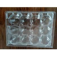 egg trays quail egg trays with 12 holes 3*4 clear pvc egg containers