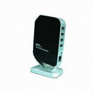 China Eje de la red USB/servidor del establecimiento de una red USB con 4 puertos, ayudas LPR/LPD, DHCP, y protocolos de UPnP on sale