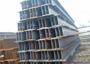 China JIS G3192 Standard Steel H beam Welded For Building Structure on sale
