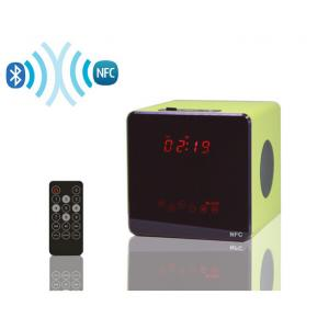 China New light sensor touch button NFC bluetooth speaker wooden USB speaker with remote control on sale