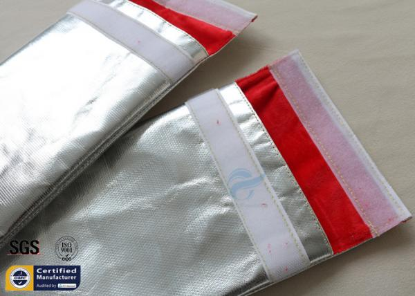 7/'/'x11/'/' Fireproof pouch Cash Goods Document safe bag Fire Resistant material